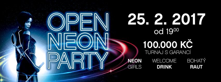 OPEN NEON PARTY